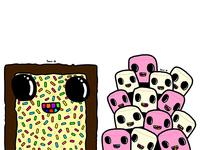 Pop-Tart and Marshmallows