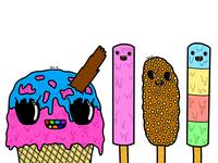 Ice Cream and Ice Lollies