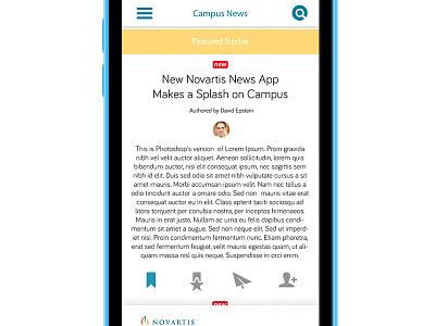 Campus News ios iphone5c mobile