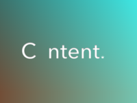 C ntent is King