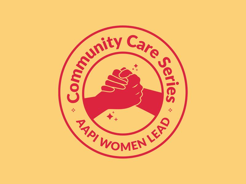 Community Care Series webdesign graphic design social socialmedia badgedesign badge logo badge