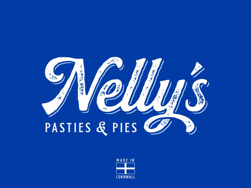 Nelly's Deli/Bakery Logo cornwall handwritten script typography logo identity ident branding delicatessen deli bakery baker