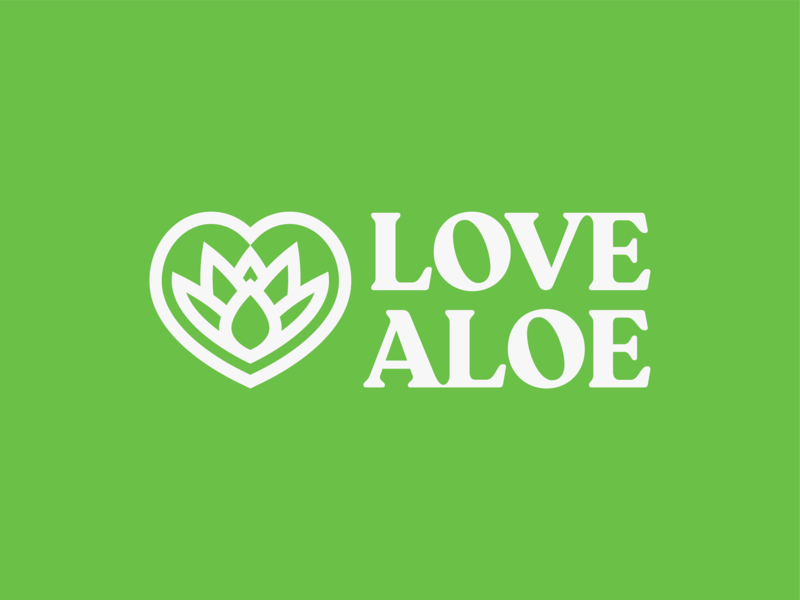 Love Aloe heart green plant aloevera aloe love