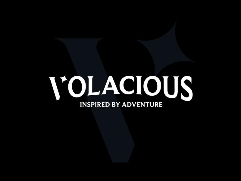 Volacious Clothing logo v logo clothing brand identity brand design branding logodesign logo