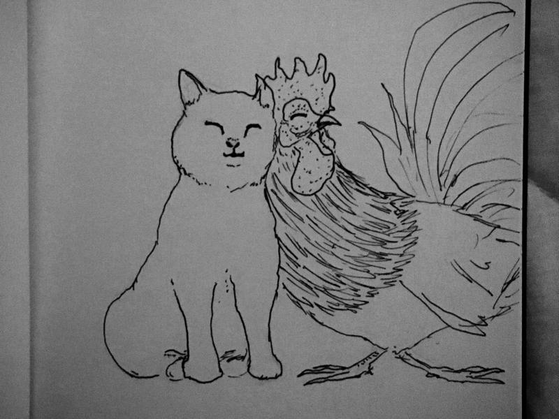 Happy Valentines drawing dailysketch sketch valentines