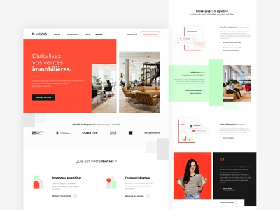 Unlatch-Dribbble agency design logo webdesign rebranding ux ui