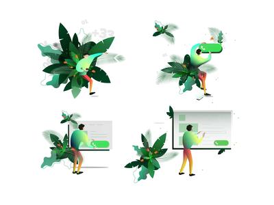 Snapcall-illustrations