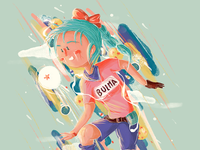 Bulma Fan Art