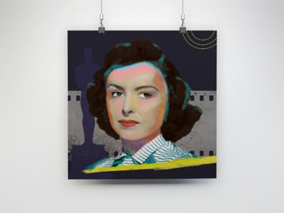 Donna Reed illustration digital
