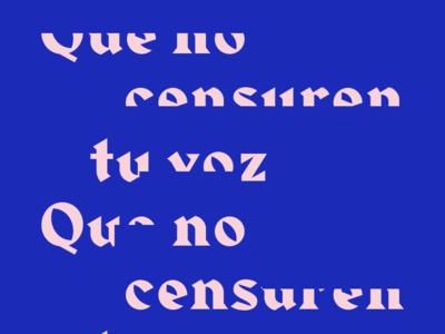 Censured.