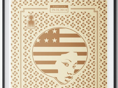 Affiche Soul Party soul illustration posterdesign