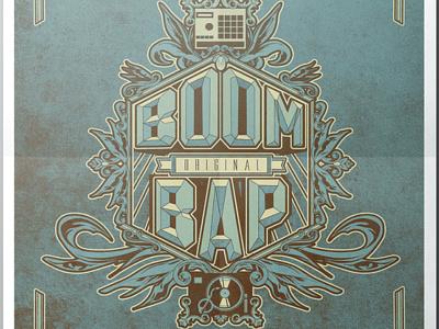 Boom Bap vectordesign design graphic bap boom illustration