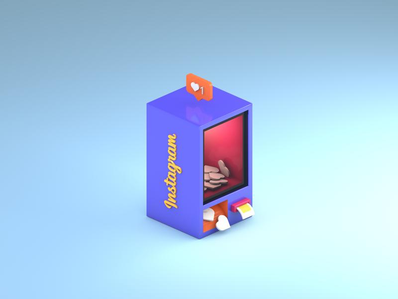 Instagram Vending Machine