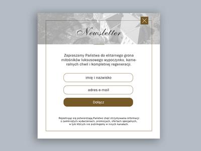 Boutique Hotel Guest Form Design