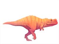 it's a dinosaur!