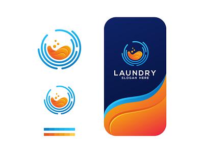 LAUNDRY technology tshirt design photoshop icon graphic brand illustrator creative logo