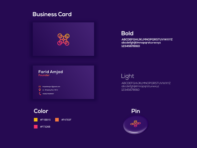 business card design illustration graphic design identity technology graphic brand illustrator creative logo