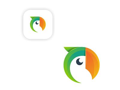 parot illustration creative  design tshirt logoparot design icon graphic illustrator creative logo parot