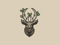 Deer horn foliage