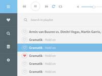 Simple music app WIP