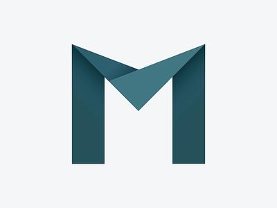 New portfolio logo logo portfolio new m origami