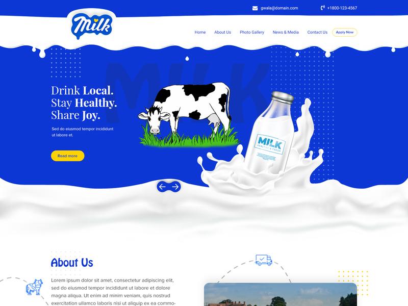 Milk Web Design