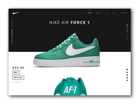 Nike Air Force 1 '07 Product Page