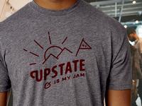 Upstate is My Jam Tee