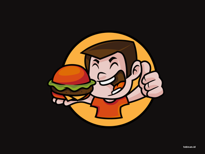 Burger Boy By Tobi Santoso On Dribbble Initially, he was the robotic mascot of the noodle burger restaurant, until it was hacked by obake into becoming his servant. burger boy by tobi santoso on dribbble