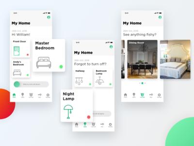 Smart Home Concept App