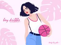 hello dribble~