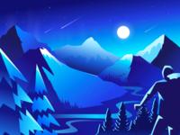 Mountain scenery 02