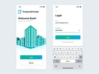 PropertyPrompt Login Screen