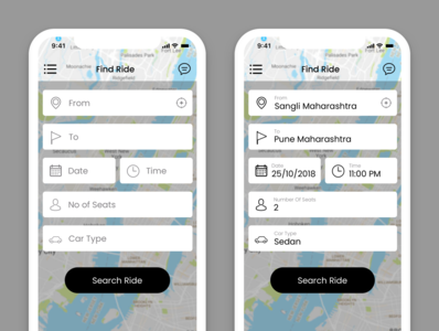 BlaBla Car Booking App  Redesign