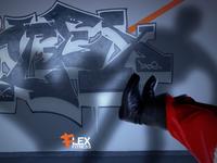 Flex Fitness gym Christmas Ad