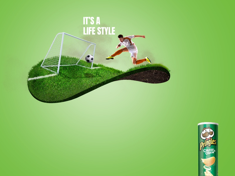 UnOfficial Pringles Ad pringles branding design