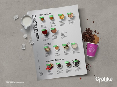 Coffe Menu - Glasius House of Gelato