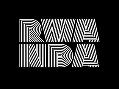 Lakava Rwanda packaging lettering