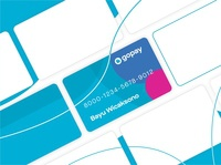 GOPAY Card Design payment card design gojek gopay
