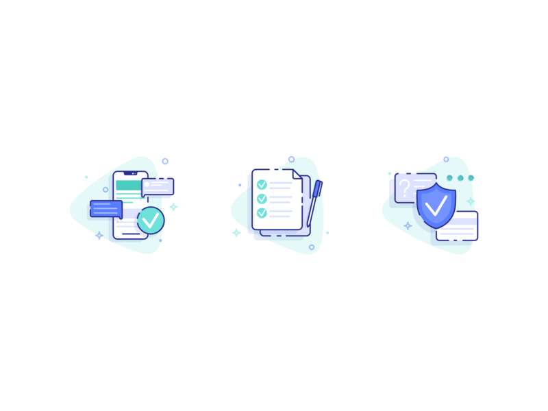 DailyUi #055 Icon Set ui business illustration dailui design challenge icons design icons set icons