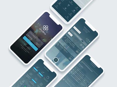 Anytime mobile app mobile ios finance design bank app anytime