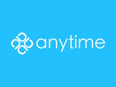 Logo Anytime 🚀 neo bank app branding new anytime logo