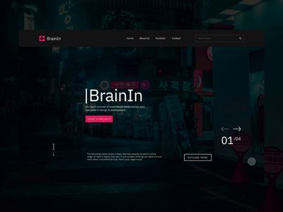 BrainIn Concept Design