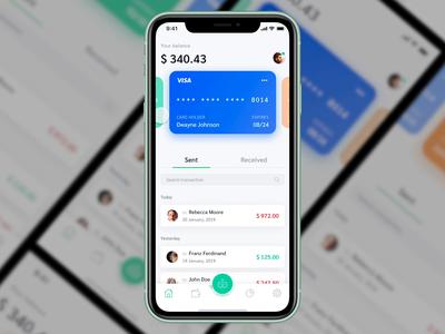 Payment app | Concept Design