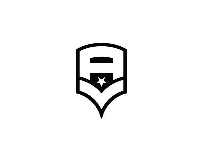 AV v1 type custom logomark mark logo athletes badge military chevron v a
