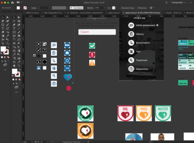 Icons WIP ux logo type identity design web icon vector ui typography