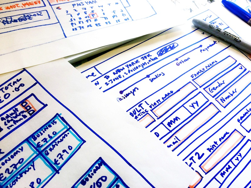 Seat booking wireframe ux design thinking design wireframing