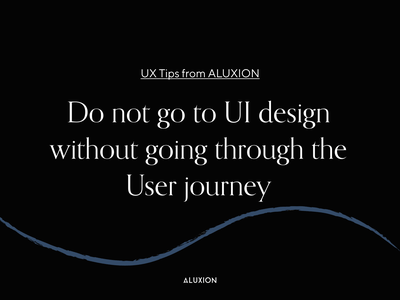 Why we should think about the user journey first user journey user experience design user experience ux user experience user ux tips minimal aluxion design