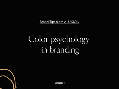 The importance of color psychology in branding strategic design brand branding design brand identity brand design design agency marketing psychology colors color tips branding aluxion design