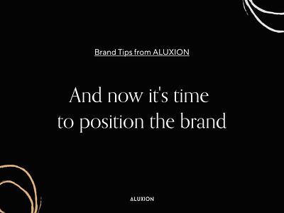 Brand Tips illustration branding aluxion design